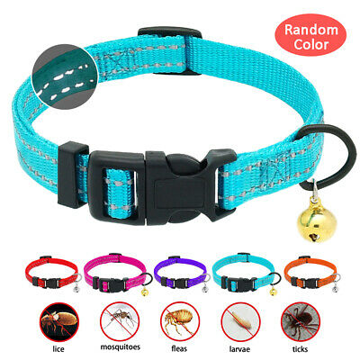 Flea and Tick Collar Dogs Cats Adjustable Insect Mosquito Repel Killer Prevent