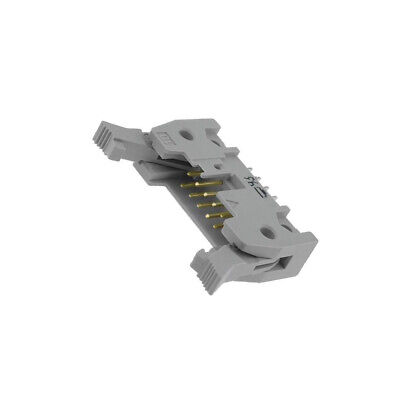 09185106904 Socket IDC male PIN10 straight with ejector THT 1.27mm HARTING