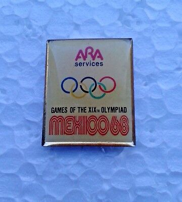 Pin's jeux olympiques Mexico 1968 Ara Services