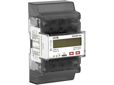 PRO380MB-CT Electric energy meter LED 8 digits, with a backlit ASTECPRO380MB-CT