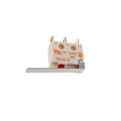 F4T7Y1UL Microswitch with lever SPDT 5A/250VAC ON-ON 1-position SAIA-BURGESS
