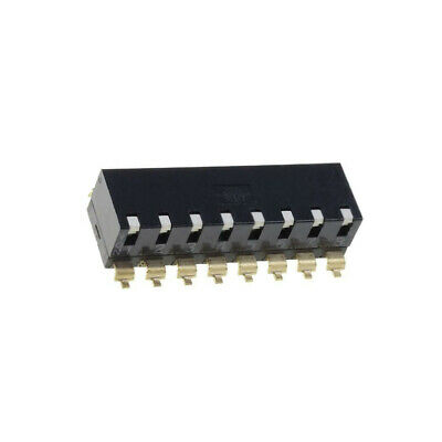 A6SR-8101 Switch DIP-SWITCH Poles number8 ON-OFF 0.025A/24VDC 100MΩ OMRON