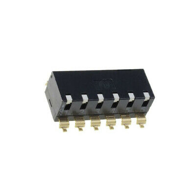 A6SR-6101 Switch DIP-SWITCH Poles number6 ON-OFF 0.025A/24VDC 100MΩ OMRON