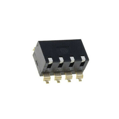 A6SR-4101 Switch DIP-SWITCH Poles number4 ON-OFF 0.025A/24VDC 100MΩ OMRON