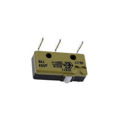 XCG11 Microswitch without lever SPDT 5A/250VAC ON-ON 1-position SAIA-BURGESS