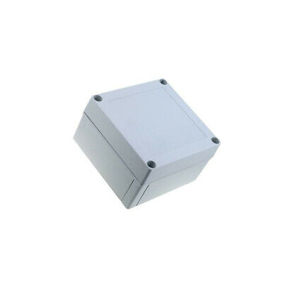 ABS125/75HG Enclosure multipurpose MNX X130mm Y130mm Z75mm ABS grey FIBOX