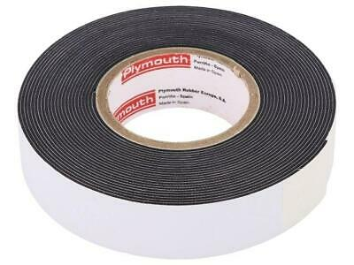 PLH-W963-19-9 Tape electrical insulating black 19mm L9.1m D0.8mm 950%  PLYMOUTH