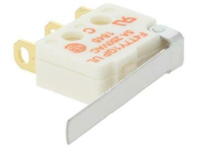 F4T7Y1GPUL Microswitch SNAP ACTION with lever SPDT 5A/250VAC ON-ON  SAIA-BURGESS