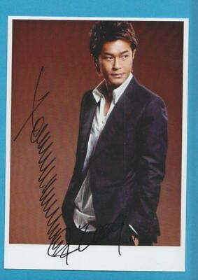 LOUIS KOO  in person signed glossy PHOTO  13/19 cm , 5x7 inch AUTOGRAPH