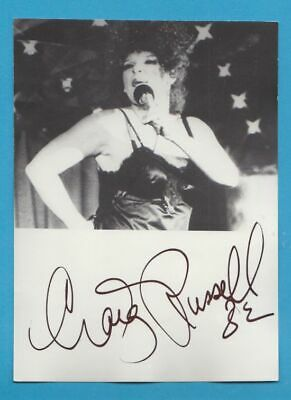 CRAIG RUSSELL in person signed PHOTO  13 x 18 cm AUTOGRAPH *BURLESQUE*