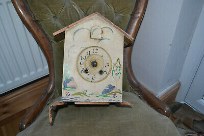 unusual cuckoo clock for spares/repair