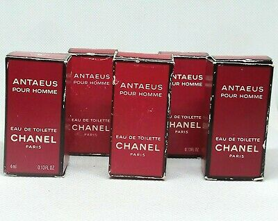 Lot 5 Vintage ANTAEUS von Chanel 4 ml edt OVP 20 ml