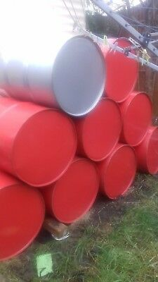 3  x  EMPTY OIL DRUMS 205L =45 GALLON HAD NEW OIL IN COLLECT FROM BEDFORD