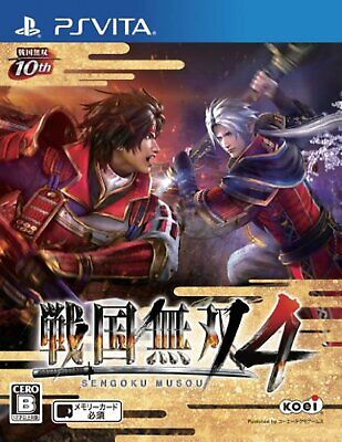 PS Vita Sengoku Musou 4 Free Shipping with Tracking number New from Japan