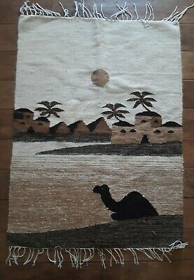 "Hand Knotted Egyptian Kilim Weaving Rug 2' 4"" x 3' 2"""