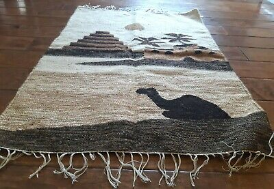 "Hand Knotted Egyptian Kilim Weaving Rug 2' 4"" x 3' 3"""