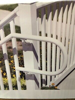 STAIR RAILING KIT Traditional Veranda Durable Handrail Vinyl