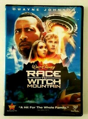 Race To Witch Mountain DVD Walt Disney Dwayne Johnson  L/8