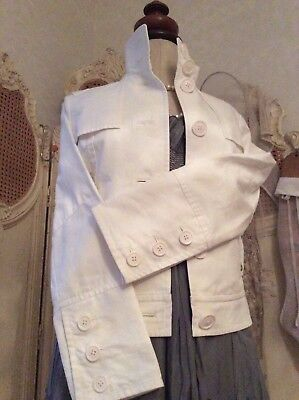 TED BAKER London Designer ~ Gorgeous White Jacket ~ Excellent Quality ~RRP £200+