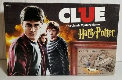 Clue: Harry Potter The Classic Mystery Board Game 2016 Complete Free Shipping!