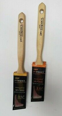 Linzer  Pro Impact  2 1//2 in W Angle  Trim Paint Brush
