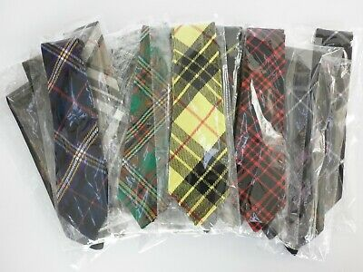 Scottish Tartan Ties - Available in 29 different tartans