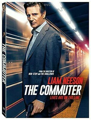 The Commuter (DVD, 2018, Widescreen) NEW