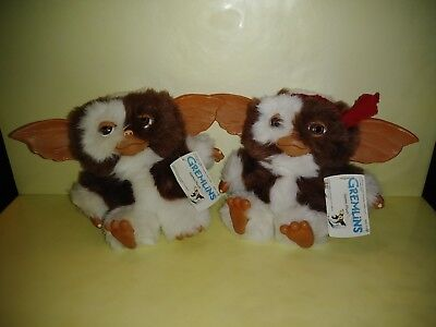 (2) Different NECA, Gremlins GIZMO PLUSH Dolls, 2005/2006, 6 Inches Tall