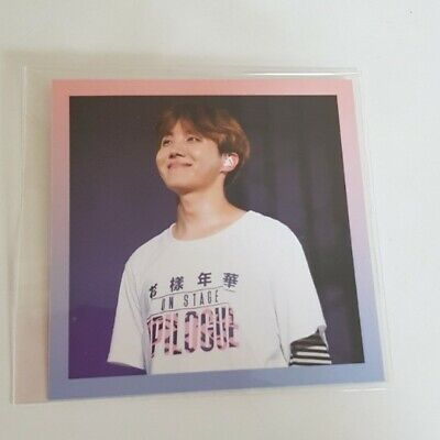 BTS HYYH Live On Stage Epilogue Concert Dvd  Official Photocard J Hope Kpop