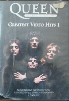 Queen - DVD Collection - Greatest Video Hits 01 (DVD, 2002, 2-Disc Set)