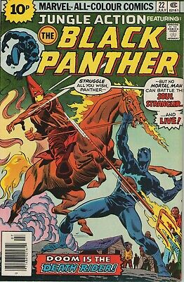 Jungle Action # 22, Featuring The Black Panther, High Grade Copy