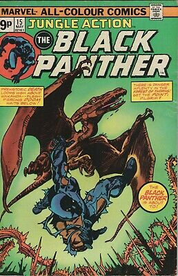 Jungle Action # 15 , Featuring The Black Panther, High Grade Copy
