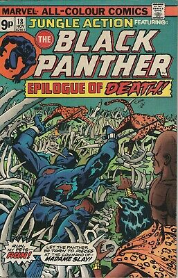 Jungle Action # 18 , Featuring The Black Panther, High Grade Copy
