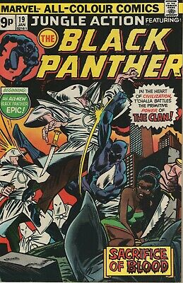 Jungle Action # 19 , Featuring The Black Panther, High Grade Copy