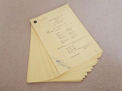Original BBC TV Script for Whatever Happened To The Likely Lads 1974 James Bolam