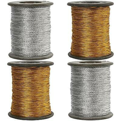 0.5mm Metallic Gold or Silver Thread - Hanging thread or Jewelry Cord