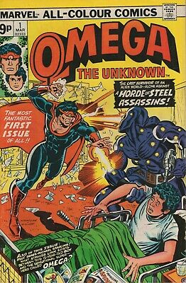 Omega The Unknown # 1 , High Grade Copy