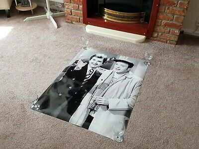 Large EX-EXHIBITION Poster featuring THE LIKELY LADS James Bolam & Rodney Bewes