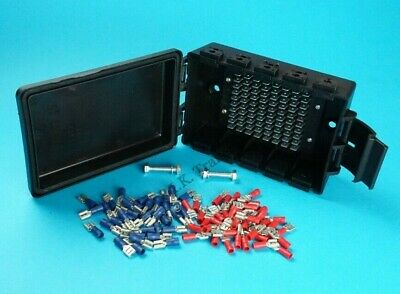 Waterproof Electrical Junction Box with 80 Spade Terminals Ifor Williams Trailer