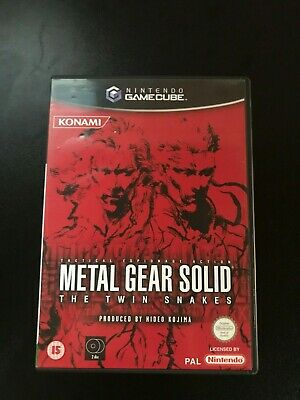 Metal Gear Solid: The Twin Snakes - GameCube Game PAL - Aust Seller
