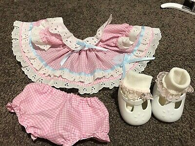 My Child Doll Replica Tulip Dress And Original Mary Janes (Jeanette's Gems)