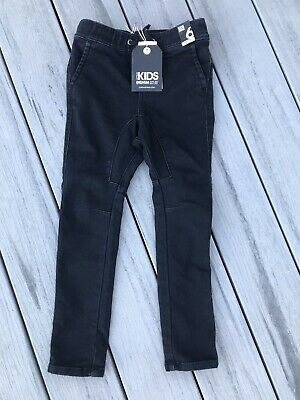 New With Tag Boys Skinny Style Cotton On Jeans Size 6 Adjust Waist