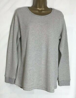 Asos Maternity Grey Cotton Mix Jersey Lounge/Sweat Top Size 10