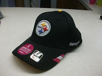738c63ffe PITTSBURGH STEELERS BCA pink Reebok Official Sideline Cap Hat Fitted ...