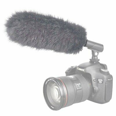 EN-8 Outdoor Microphone Furry Windscreen Muff for Big Size Microphone(Gray)