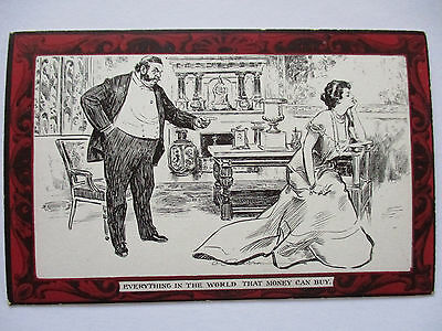 Pictorial Comedy Postcard, Gibson´S Drawings No.48 about 1910 (19793)