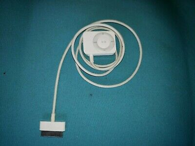 Genuine Apple iPod FM Radio Remote 30-Pin Tuner Model A1187, White
