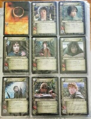 Lot of 28 Pages Lord of the Rings Collectible Trading Cards | All Types