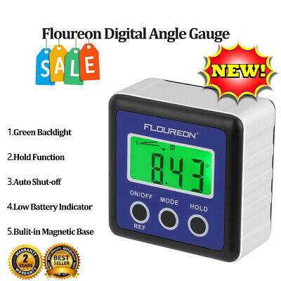 Digital Bevel Level Box Gauge LCD Digital Angle Finder Protractor Inclinometer