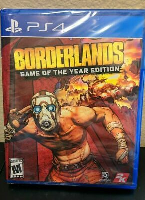 Borderlands [ Game of the Year Edition ] (PS4) NEW SEALED